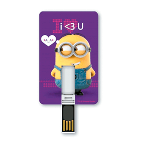 Pendrive USB 2.0 8GB Minions Love