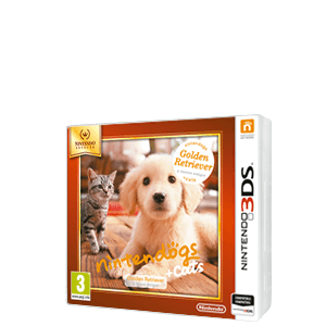Nintendogs + Gatos: Golden Retiever Nintendo Selects