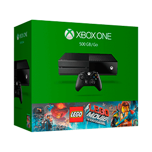 Xbox One 500 GB + Lego the Movie