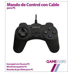 Mando de Control con Cable GAMEware
