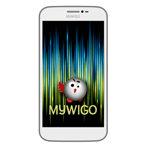 """Smartphone Mywigo Magnum 5"""" IPS Quad Core 1Gb+8Gb Blanco"""