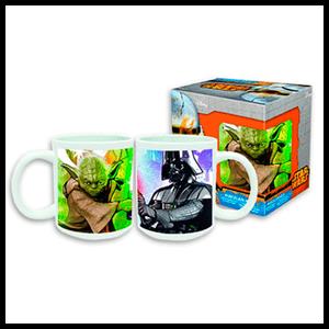 Taza Star Wars Yoda y Vader