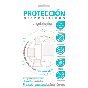 Protector Pantalla Univ Crystalusion