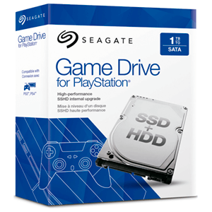 Disco Duro Seagate 1TB Game Drive PS3/PS4