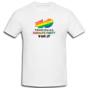 Camiseta 40 principales Karaoke party vol. 2