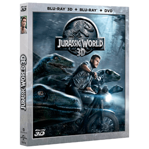 Jurassic World DVD + BD + BD 3D