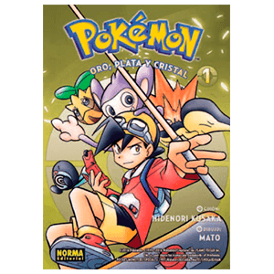 Pokemon nº 5: Oro, Plata y Cristal nº 1