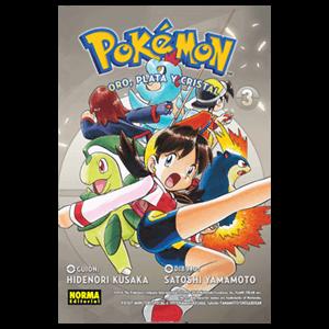 Pokemon nº 7: Oro, Plata y Cristal nº 3