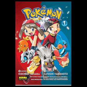Pokemon nº 9: Rubí y Zafiro nº 1