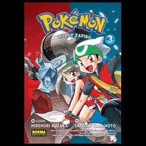 Pokemon nº 11: Rubí y Zafiro nº 3