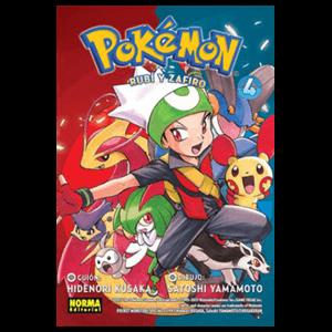 Pokemon nº 12: Rubí y Zafiro nº 4