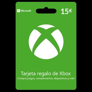 Tarjeta prepago Xbox Live 15€