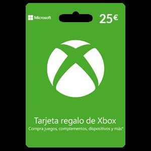 Tarjeta prepago Xbox Live 25€