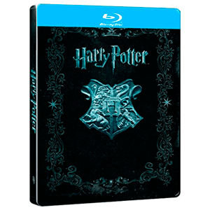 Harry Potter Jumbo Steelbook BD