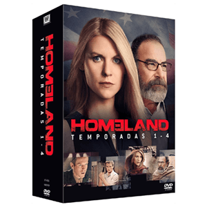 Pack Homeland T1-T4 BD