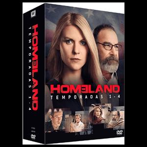 Pack Homeland T1-T4 BD