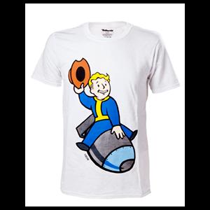 Camiseta Fallout 4 Vault Boy Misil Talla XL