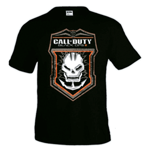 Camiseta CoD BOIII: Skull Logo Talla L