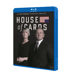 Pack House of Cards T1-T3 BD