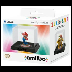 Caja Cristal Amiibo Hori -Licencia Oficial Nintendo-
