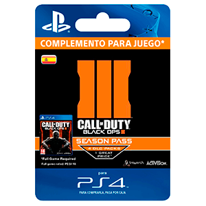 Call of Duty: Black Ops III Season Pass PS4