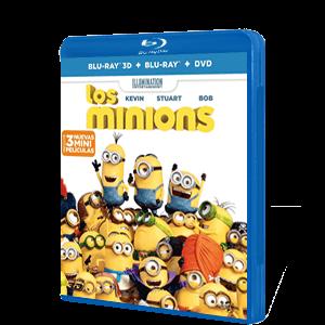Los Minions DVD+BD+ BD 3D