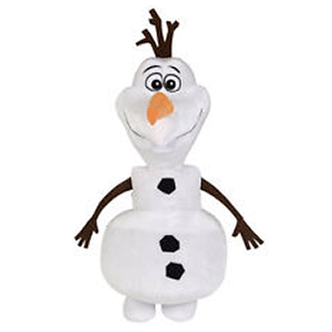 Peluche Olaf de Pie 30 cms