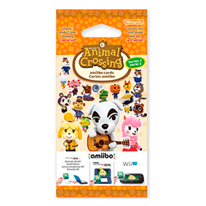 Pack 3 Tarjetas amiibo Animal Crossing HHD - Serie 2