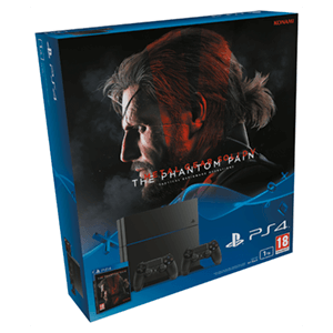 Playstation 4 1Tb + Metal Gear Solid V Phantom Pain + 2º DualShock 4