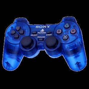 Controller Sony Dualshock 3 Azul Transparente