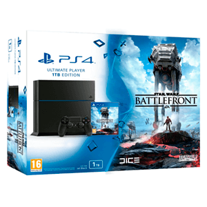 Playstation 4 1Tb + Star Wars Battlefront
