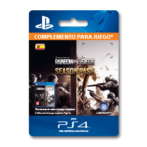 Tom Clancy's Rainbow Six Siege Season Pass PS4