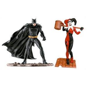 Pack Justice League: Batman y Harley Quinn