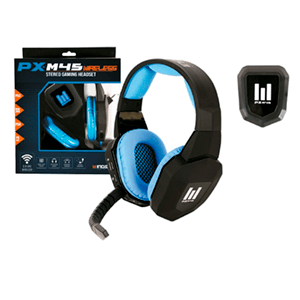 Auriculares Indeca PX M45 Wireless PS4/PS3/X360/PC