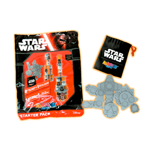 Starter Pack Abatons Star Wars