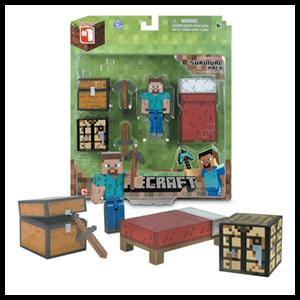Blister Figura Minecraft Deluxe