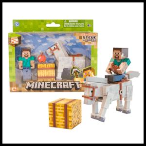 Blister Minecraft Steve + Caballo