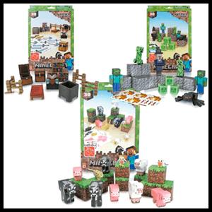 Minecraft Papercraft (30 piezas)