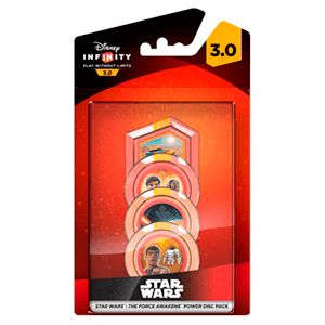 Disney Infinity 3.0 Star Wars Power Disc Force Awakens - Pack de 4