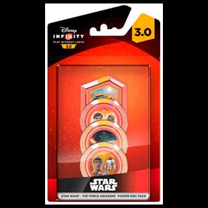 Disney Infinity 3.0 Star Wars Power Disc Force Awakens - Pack de 4