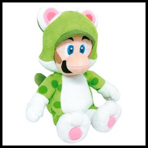Peluche Luigi Cat 25cm