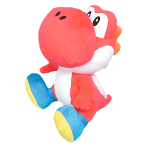Peluche Yoshi Rojo 17cm