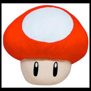 Peluche Champiñón Rojo Mario 35cm