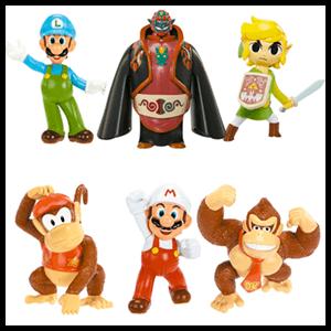 Minifiguras Mario 6cm Serie 2 (Surtido)