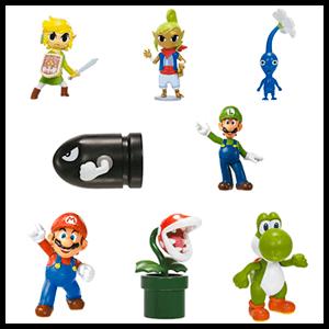 Minifiguras Mario 6cm Serie 4 (Surtido)