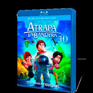 Atrapa La Bandera Dvd + Bd + Bd 3D