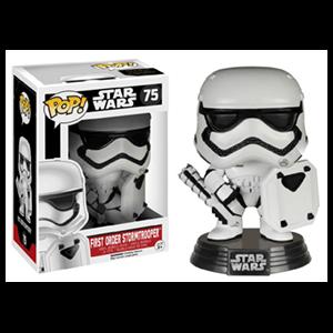 Figura Pop Star Wars VII: Stormtrooper con Escudo Ed.Lim.
