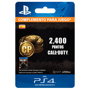 2,000 +400 Bonus Call of Duty Points PS4