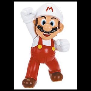 Figura Super Mario Fuego 6cms.