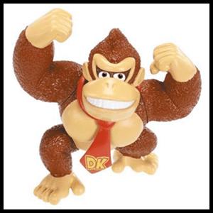 Figura Donkey Kong 6cms.